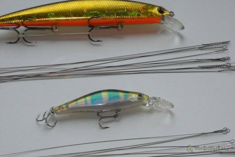 Поводок для спиннинга – необходимый элемент оснастки для хищной рыбы