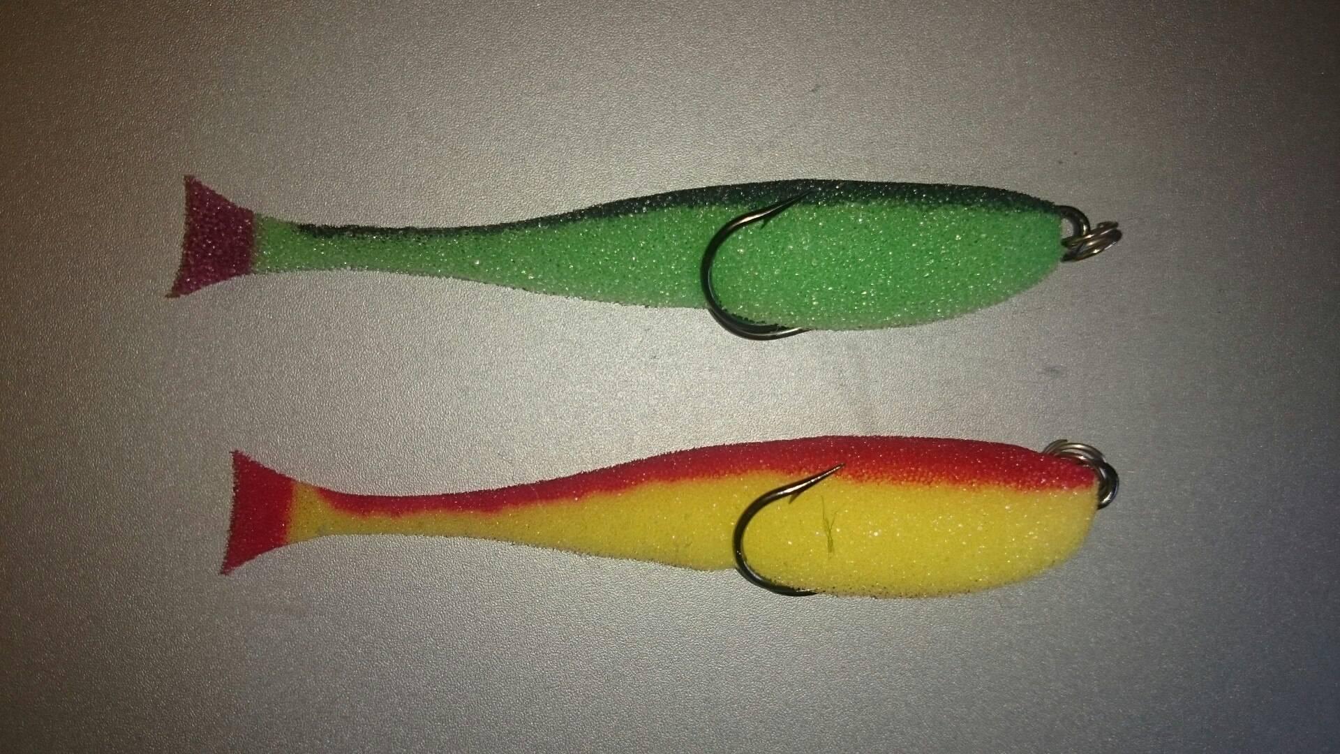 Поролоновая рыбка: как сделать поролонку своими руками