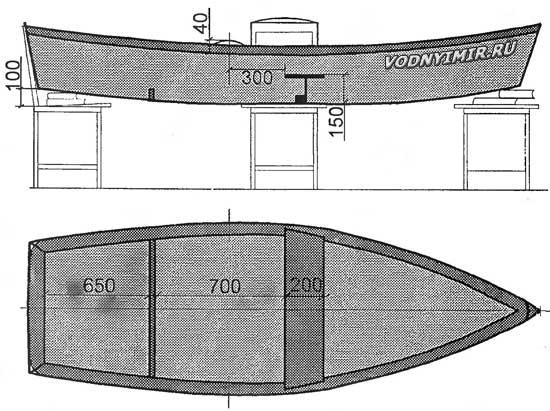 Современная лодка из фанеры своими руками
