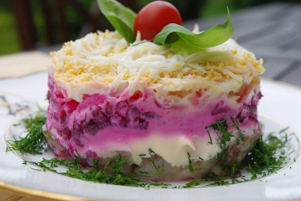 Рыба под шубой: рецепты, как приготовить в духовке или сделать салат