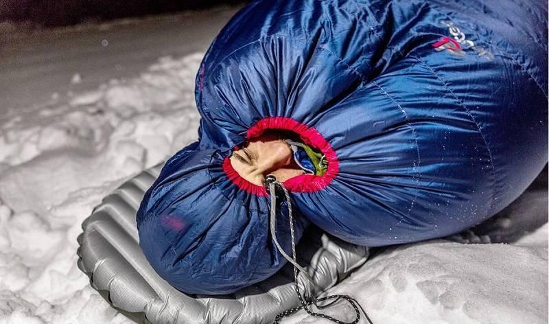 Как выбрать спальный мешок для похода