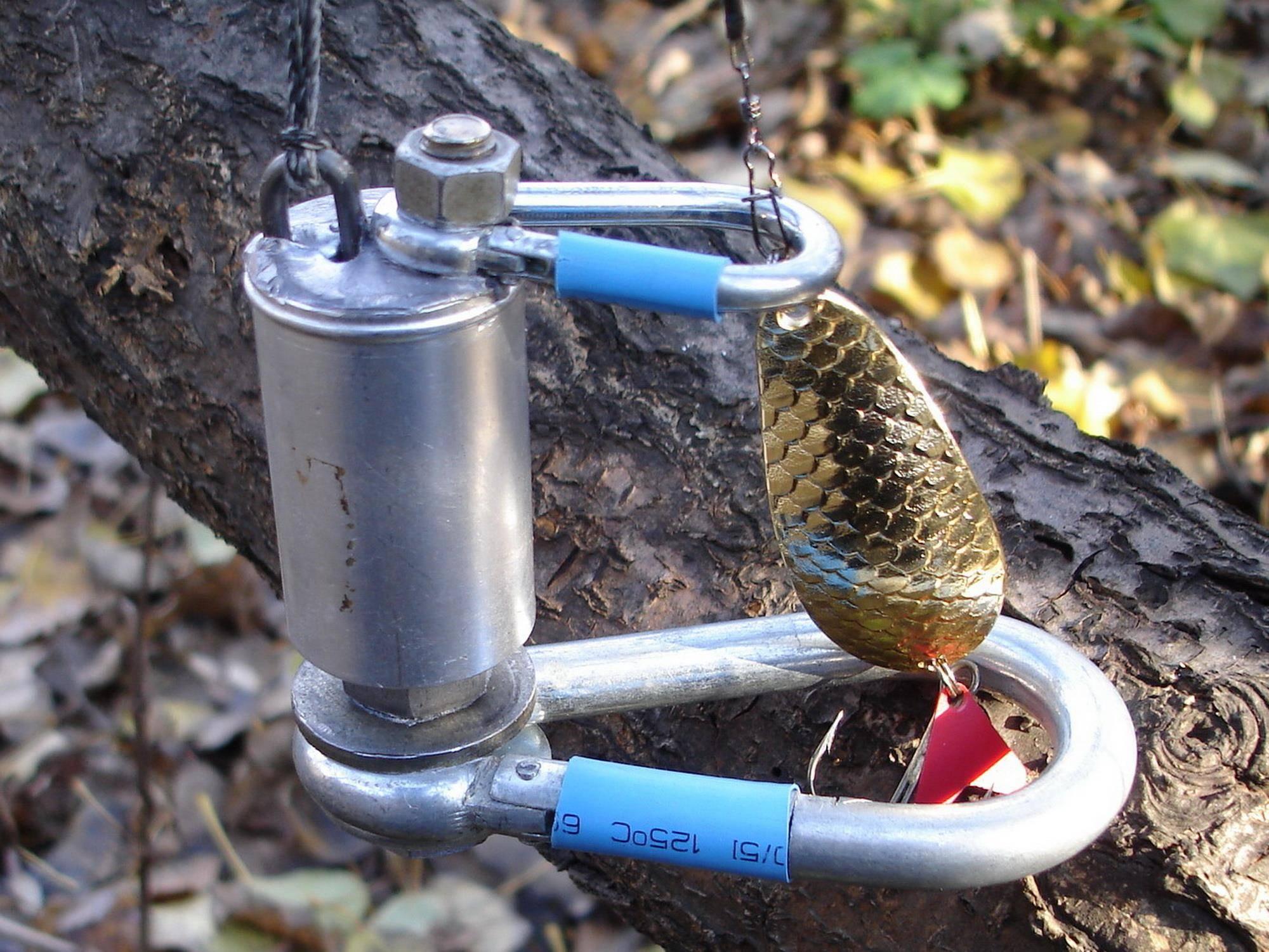 Отцепы для блесен и воблеров: описание самодельного рыболовного устройства и его изготовление своими руками