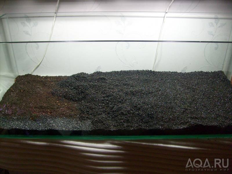 Как в аквариуме сделать лучший питательный грунт?