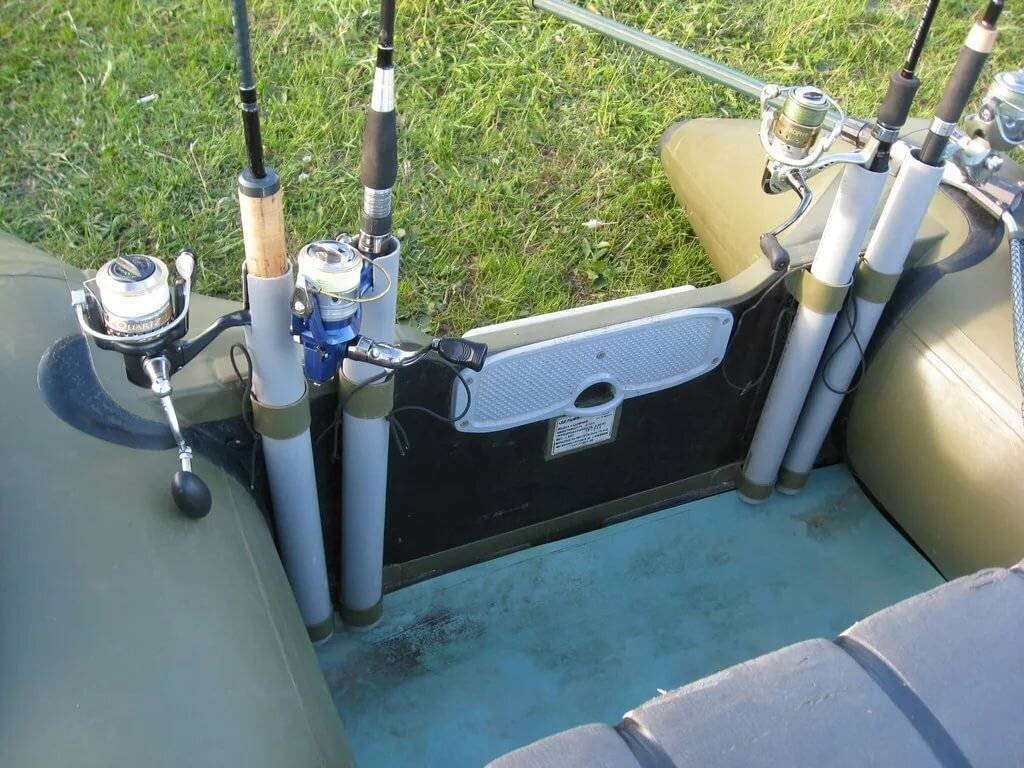 Тюнинг пвх-лодок для рыбалки своими рукам