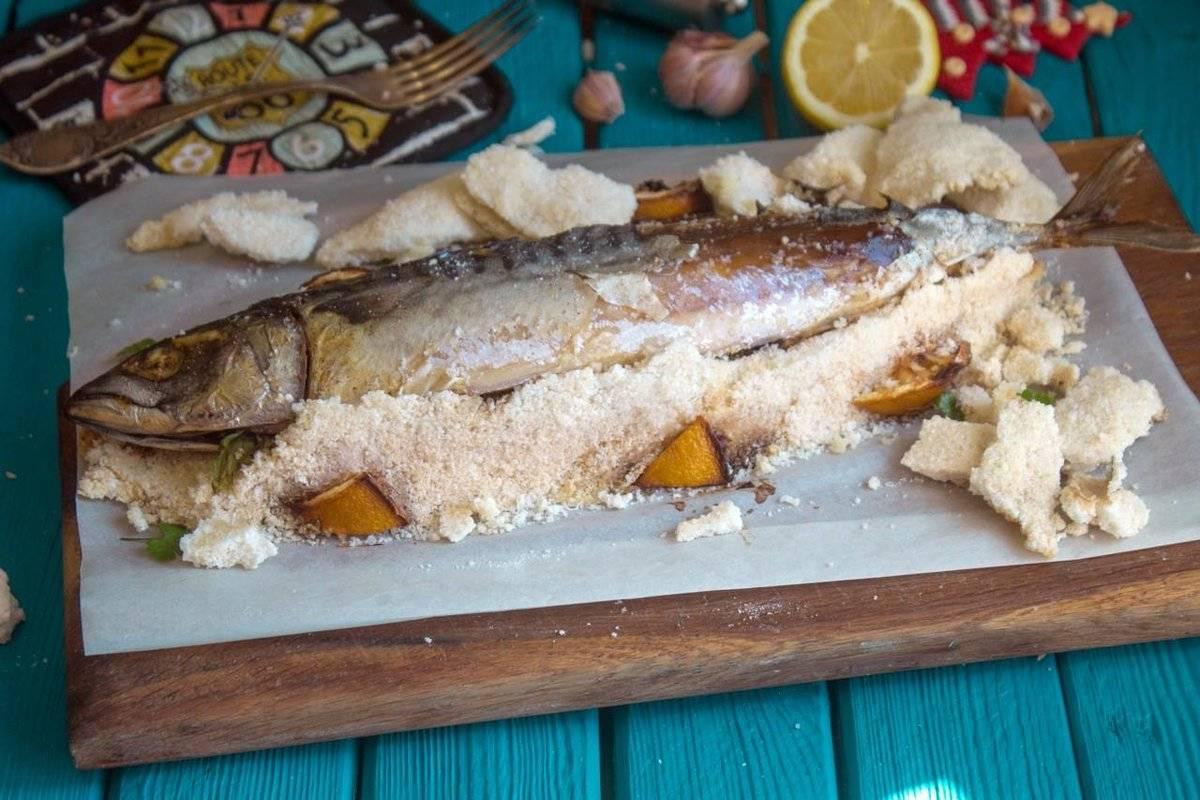 Рыба в соли в духовке: рецепт | волшебная eда.ру