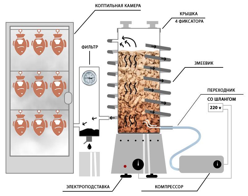 Рыба холодного копчения — технология приготовления в домашних условиях, сколько коптить по времени