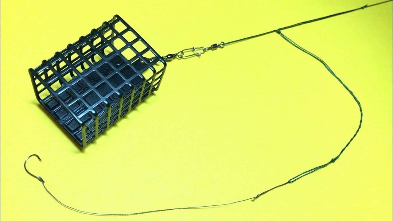 Оснастка для ловли на фидер, монтаж фидерной оснастки + видео