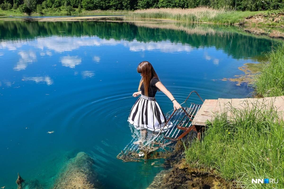Озеро ключик, нижегородская область — где находится, на карте, как доехать, фото, рыбалка, отдых
