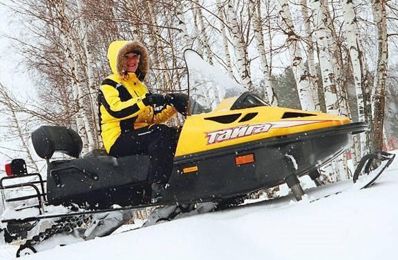 Снегоход тайга варяг 500