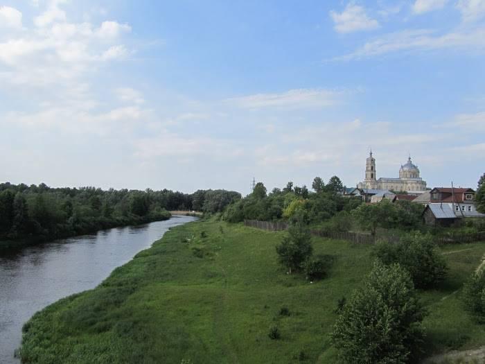 Река ока: от истока до устья с притоками на карте - oreke.ru