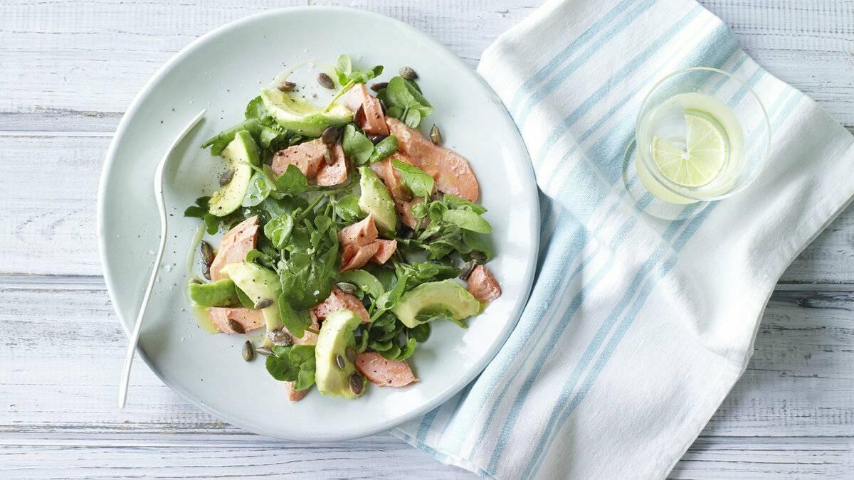 Салат «лососевый» – кулинарный рецепт
