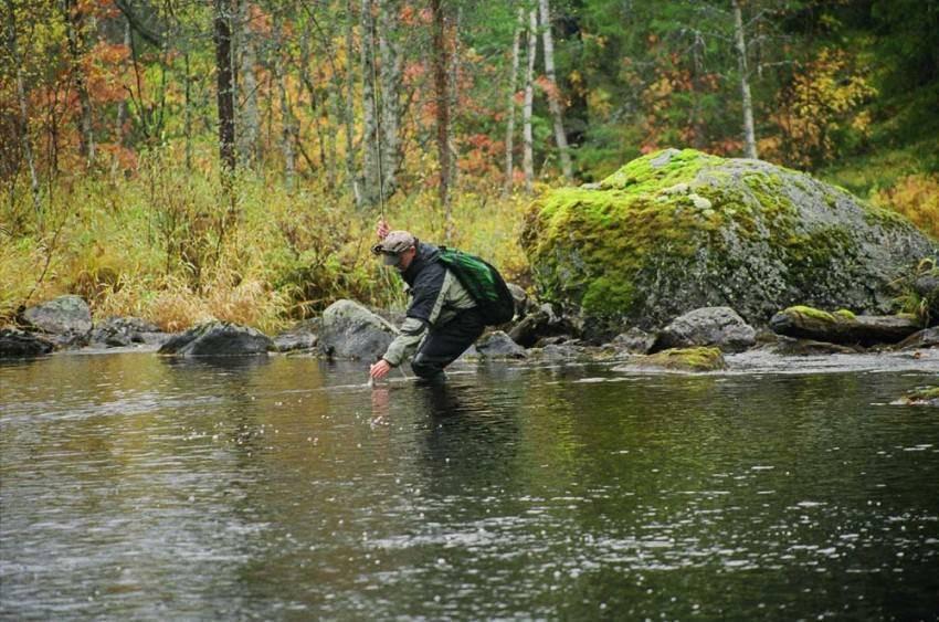 Умбозеро — место для рыбака