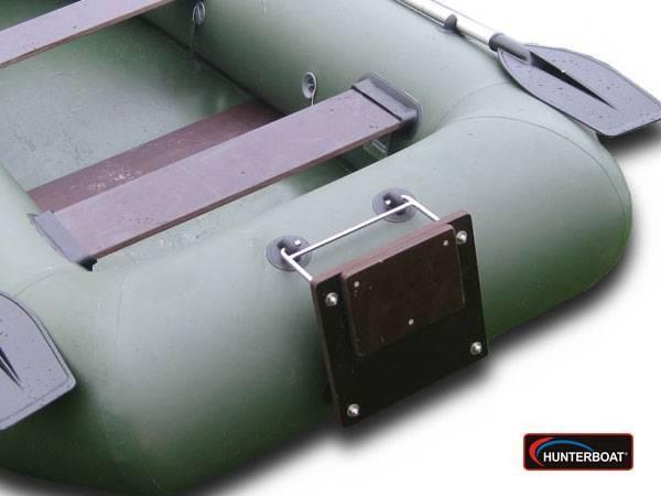 Замена транца на лодке пвх