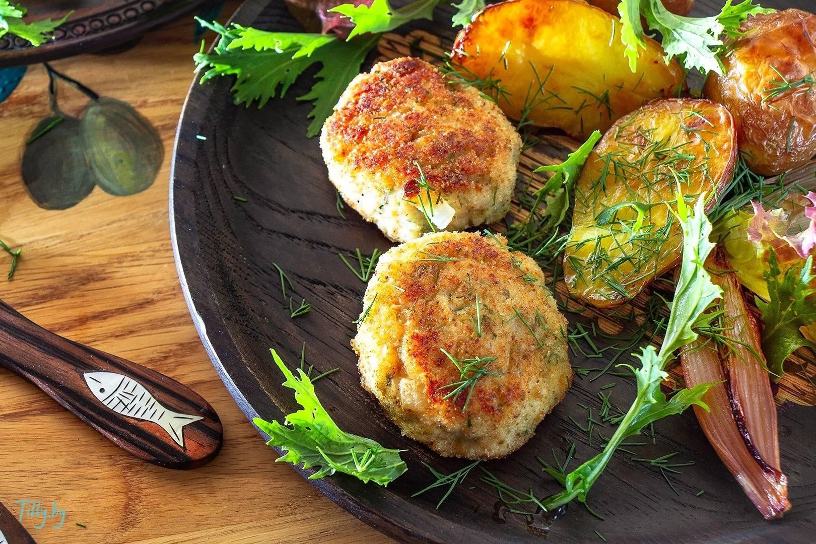 Котлеты рыбные в духовке без яиц рецепт с фото пошагово - 1000.menu