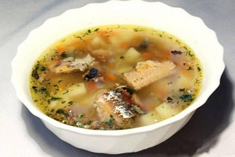 Пошаговый рецепт приготовления рыбного супа из консервов