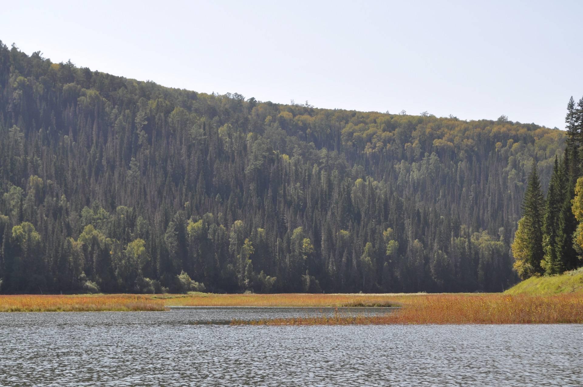 Озера красноярского края - семейный досуг