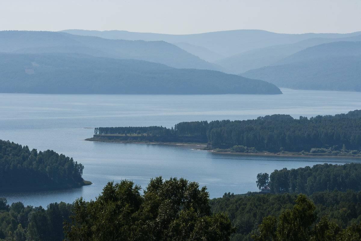 Красноярское водохранилище — википедия