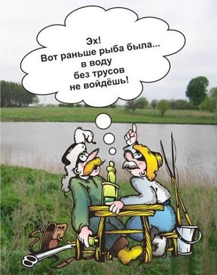 Приколы на рыбалке, анекдоты про рыбалку, рыбацкие байки