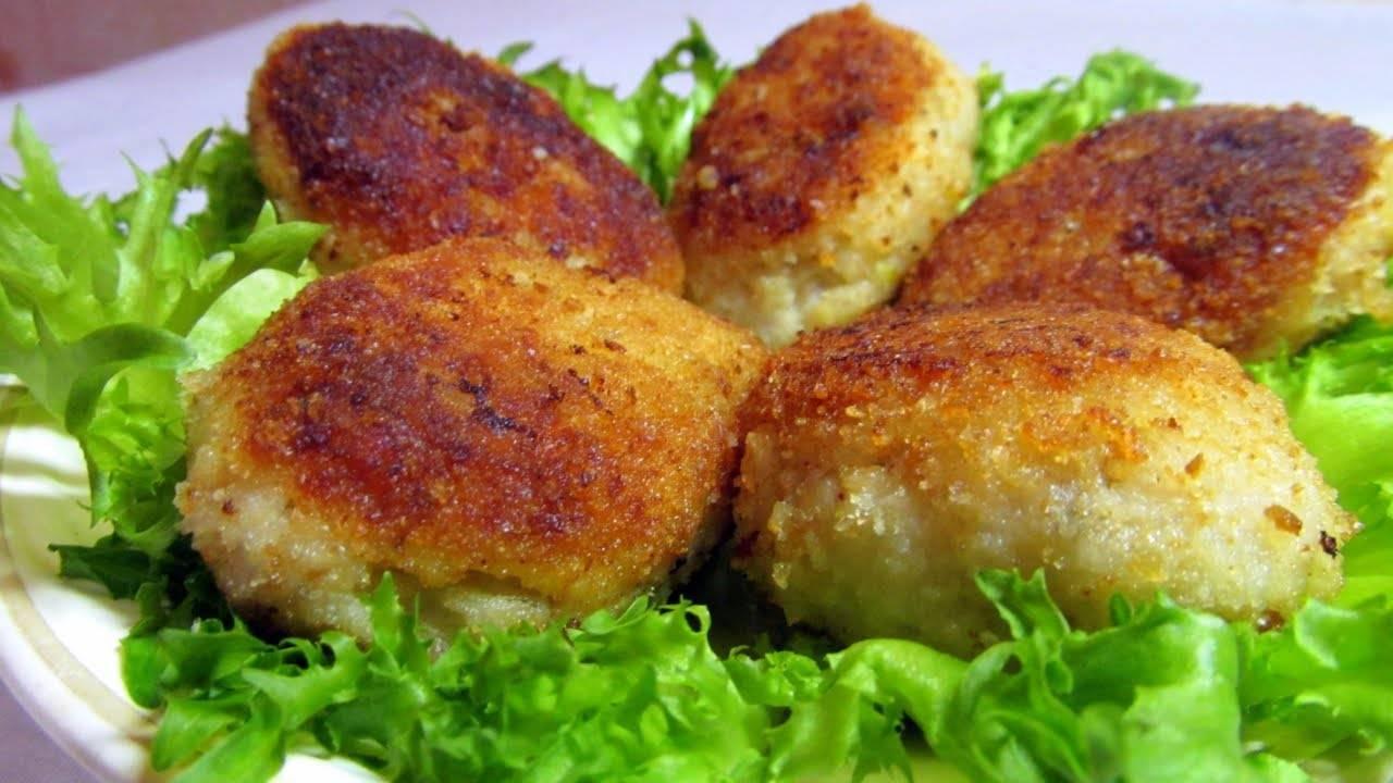Пошаговый рецепт приготовления рыбных котлет из карася