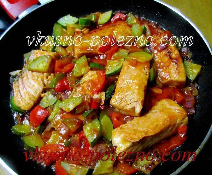 Рыба тушеная - 145 рецептов приготовления пошагово - 1000.menu