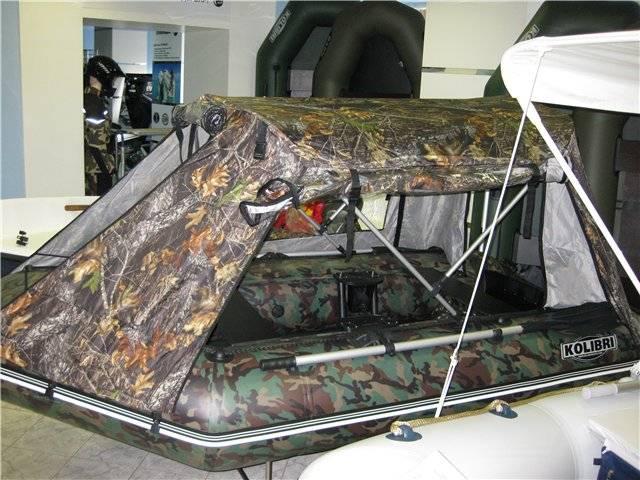 Изготовление носового, ходового или транспортировочного тента на лодку пвх своими руками