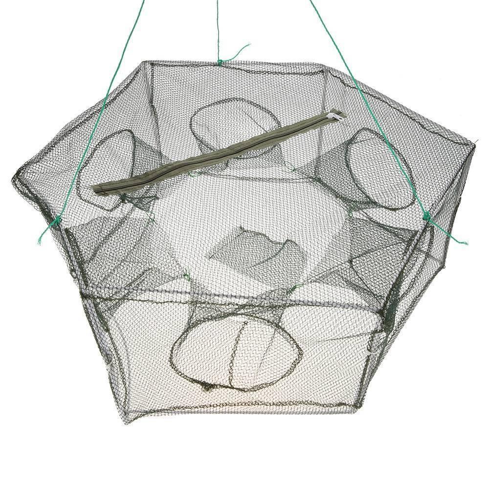 Самодельные ловушки для рыбы: разновидности и особенности