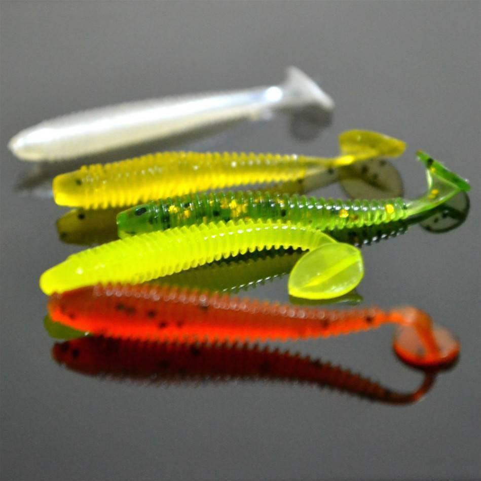 Съедобная резина для рыбалки - рейтинг самых уловистых на щуку судака и окуня
