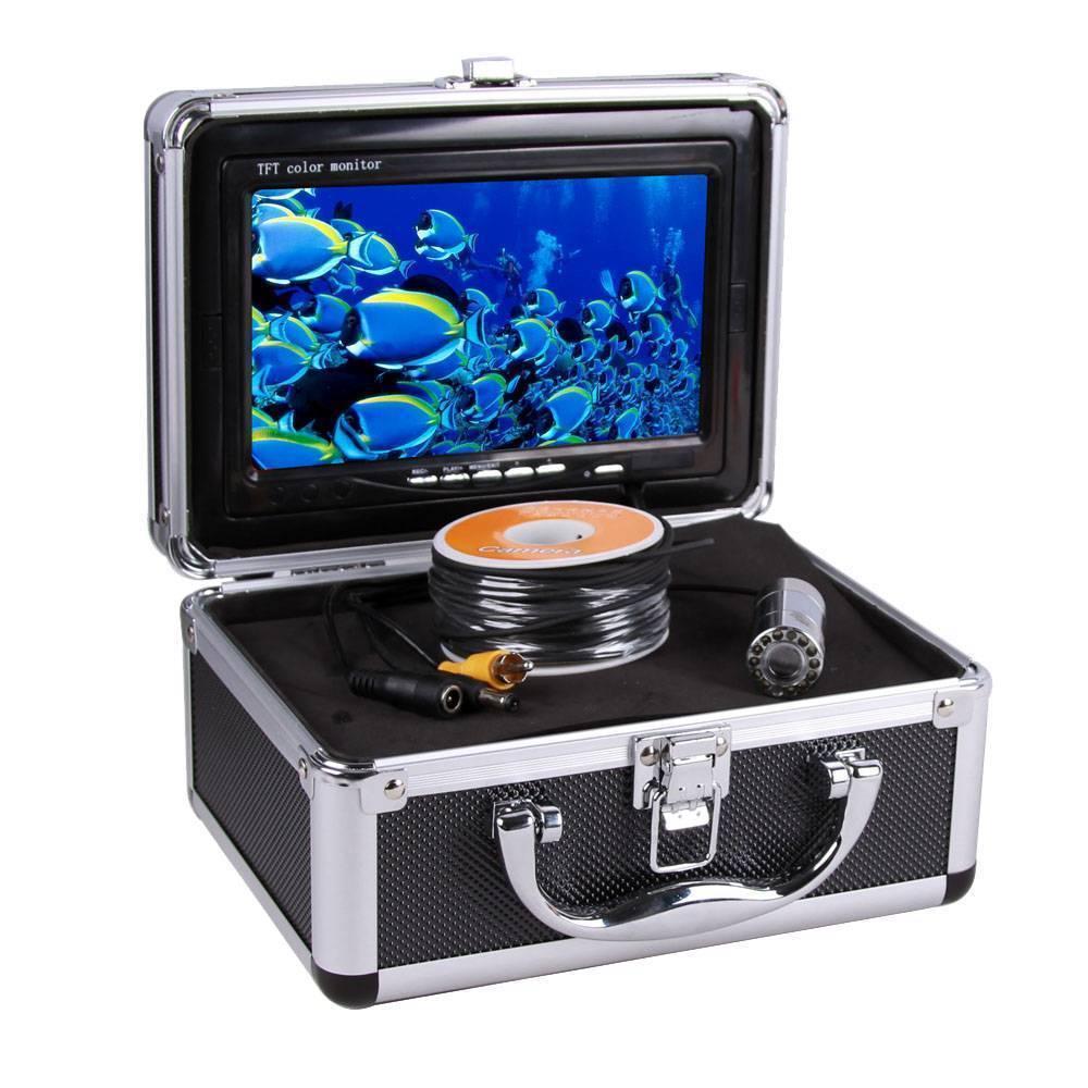 Обзор камер для подледной рыбалки   выбор и видеоинструкции