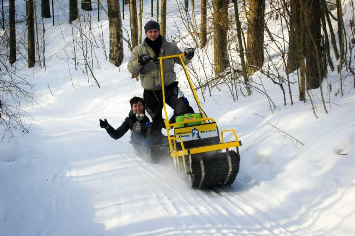 Какой разборный мини-снегоход стоит купить для рыбалки