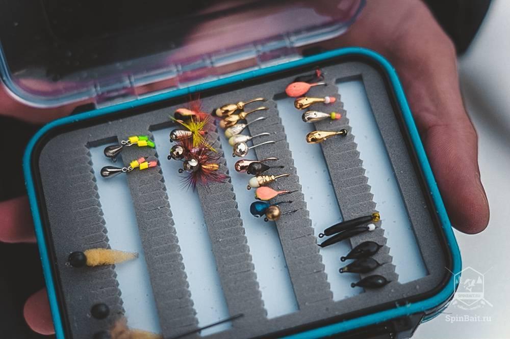 Ловля рыбы на летнюю мормышку