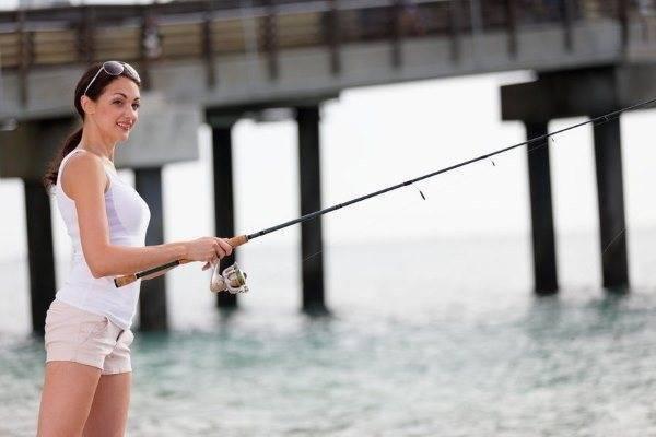 Рыба ловить рыбу удочку