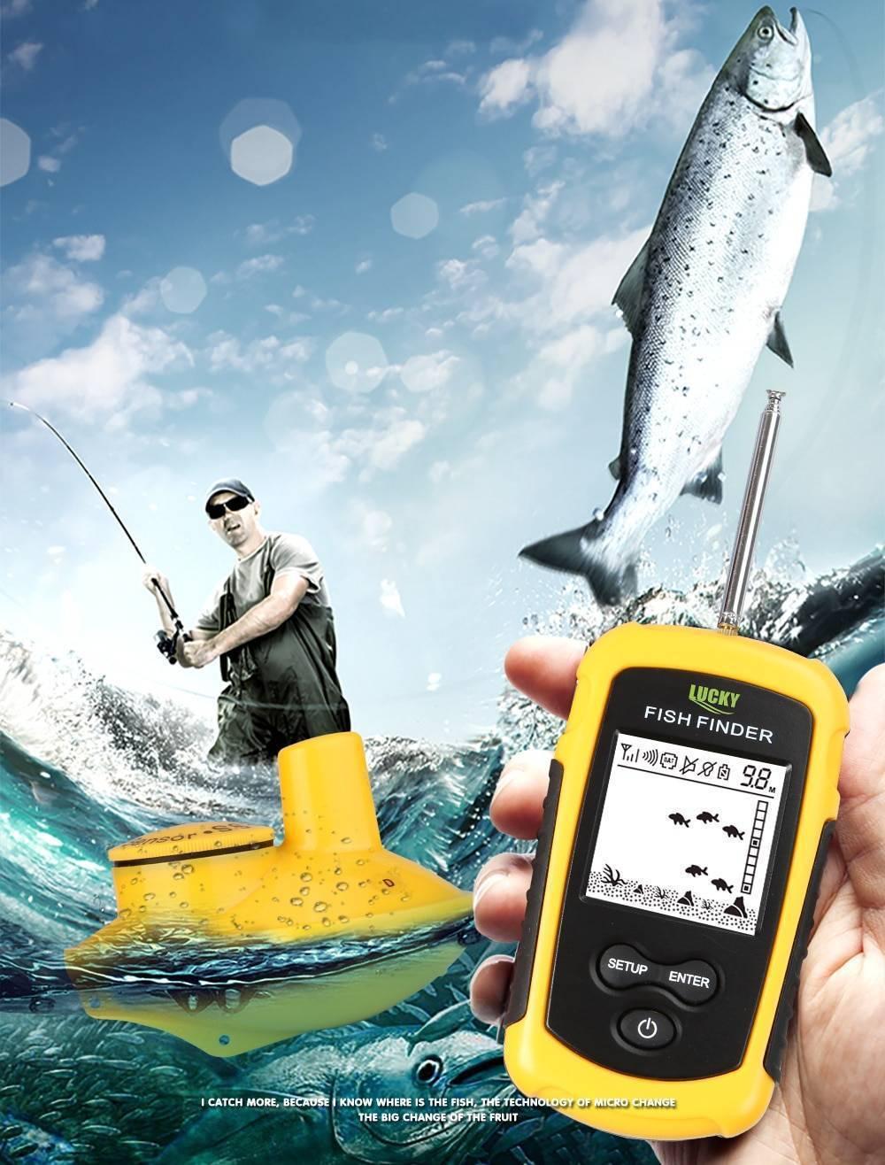 Беспроводной эхолот lucky: отзывы, популярные портативные модели (ff1108, fish finder 718, ff918)