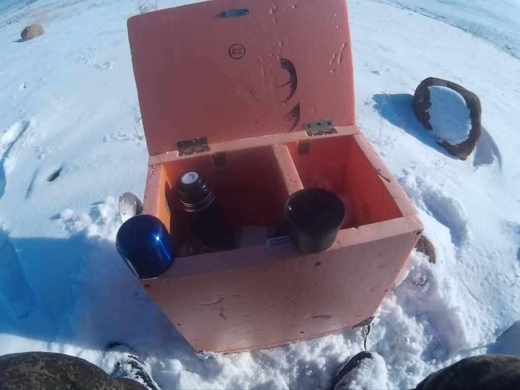 Рыболовный ящик для зимней рыбалки своими руками: как сделать рыбацкий ящик для зимней рыбалки в домашних условиях