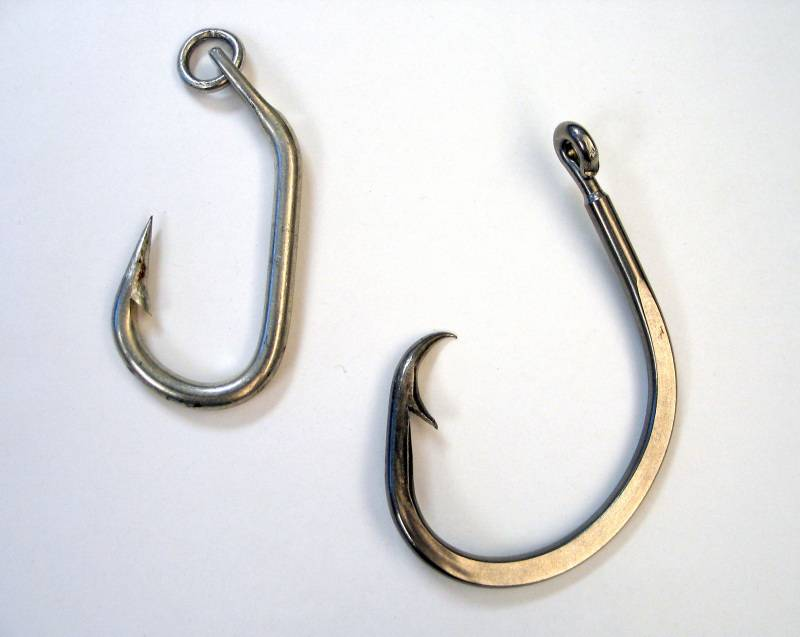 Выбор крючков для ловли леща