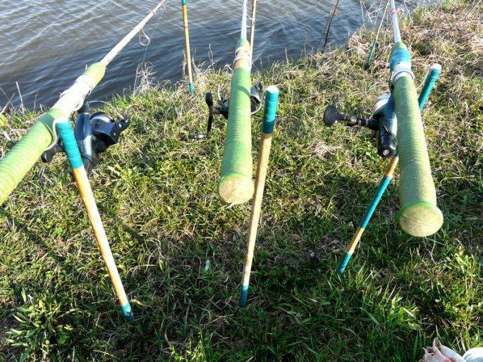 Подставка под удочку своими руками, виды и способы изготовления - рыбалка