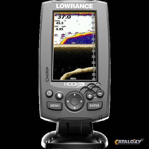 Эхолот lowrance hook-4x mid/high/downscan: обзор отзывы