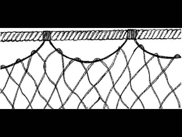 Конструкция плавных сетей