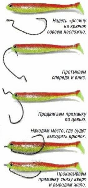 Что такое офсетные крючки и как их привязать?
