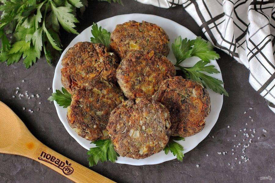 Котлеты из рыбных консервов «студенческие» / блюда из рыбного фарша / tvcook: пошаговые рецепты с фото