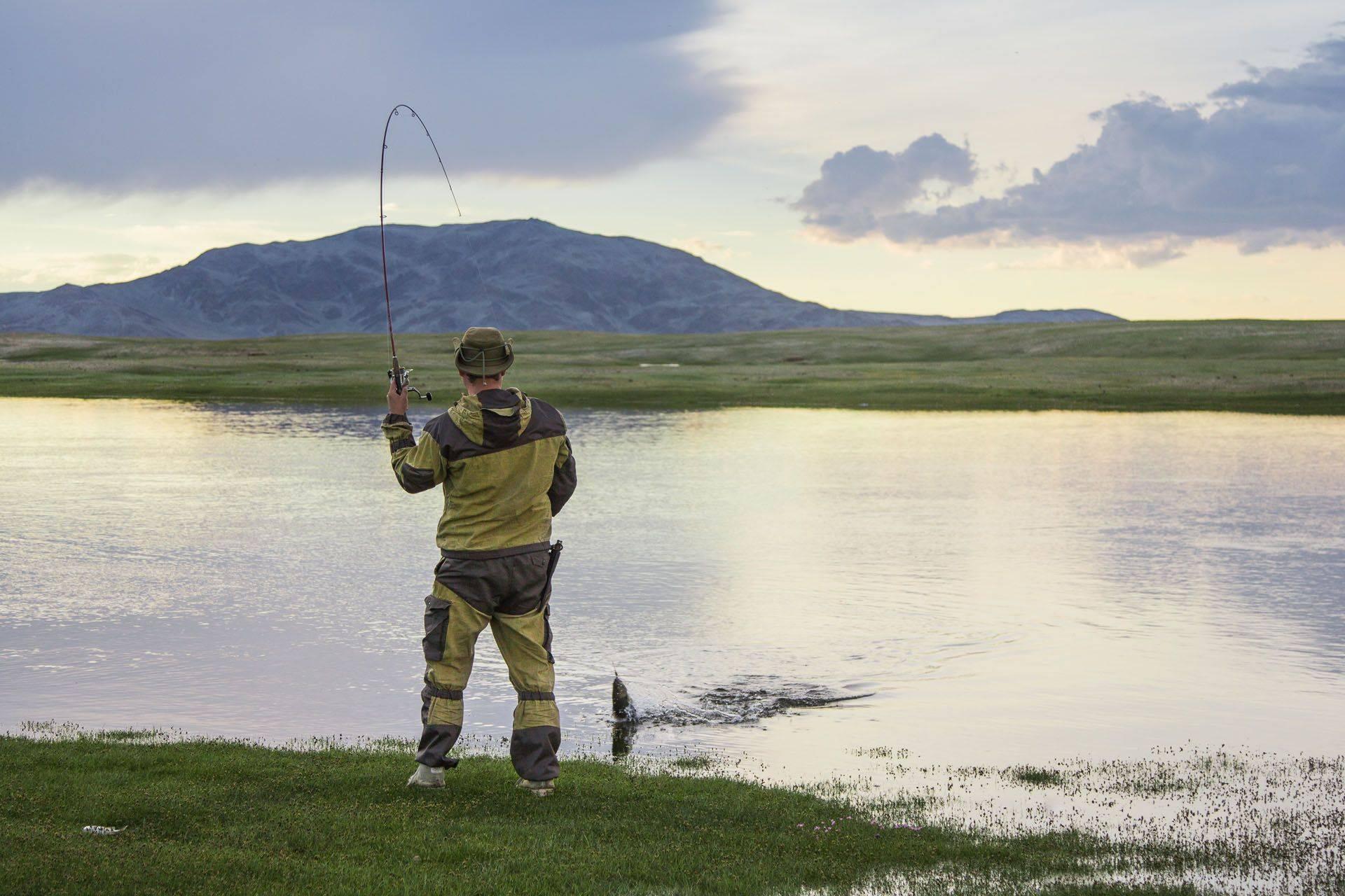 Орудия лова рыбы на реках и озерах плато путорана - путорантур