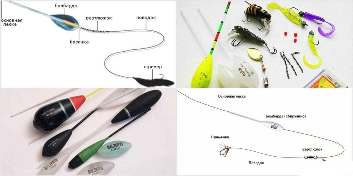 Бомбарда – снасть для рыбалки (сбирулино) монтаж и техника ловли