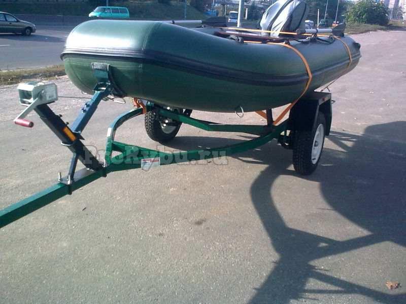 Прицеп для транспортировки лодки пвх