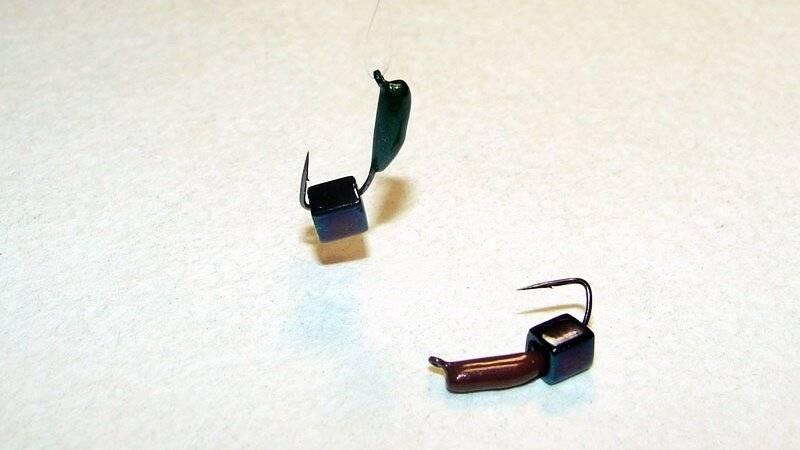 Гвоздешарик и гвоздекубик - самые уловистые мормышки