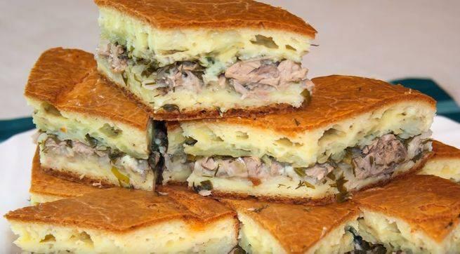 Рыбный пирог открытый и закрытый - как вкусно приготовить тесто и начинку по рецептам с фото