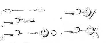 Как насаживать бойлы на крючок: оснастка
