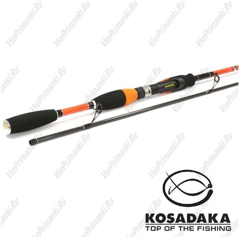 Обзор спиннинга kosadaka orange twiching point