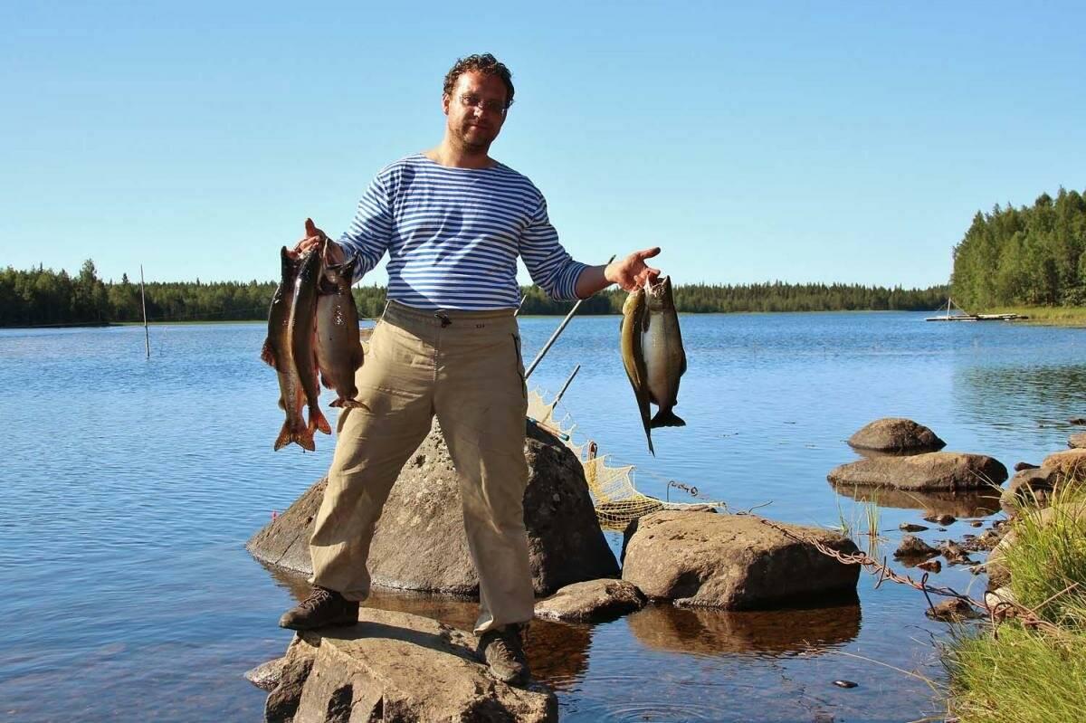 Рыбалка в районе финского залива