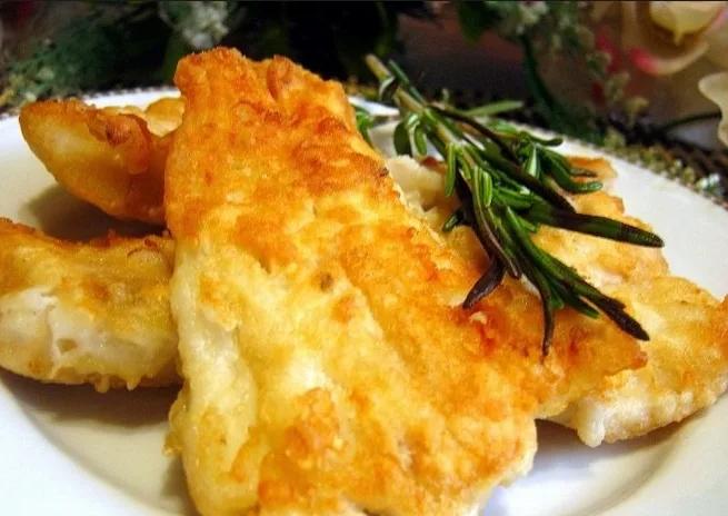 Жареная рыба в кляре