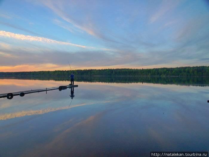 Череменецкое озеро рыбалка