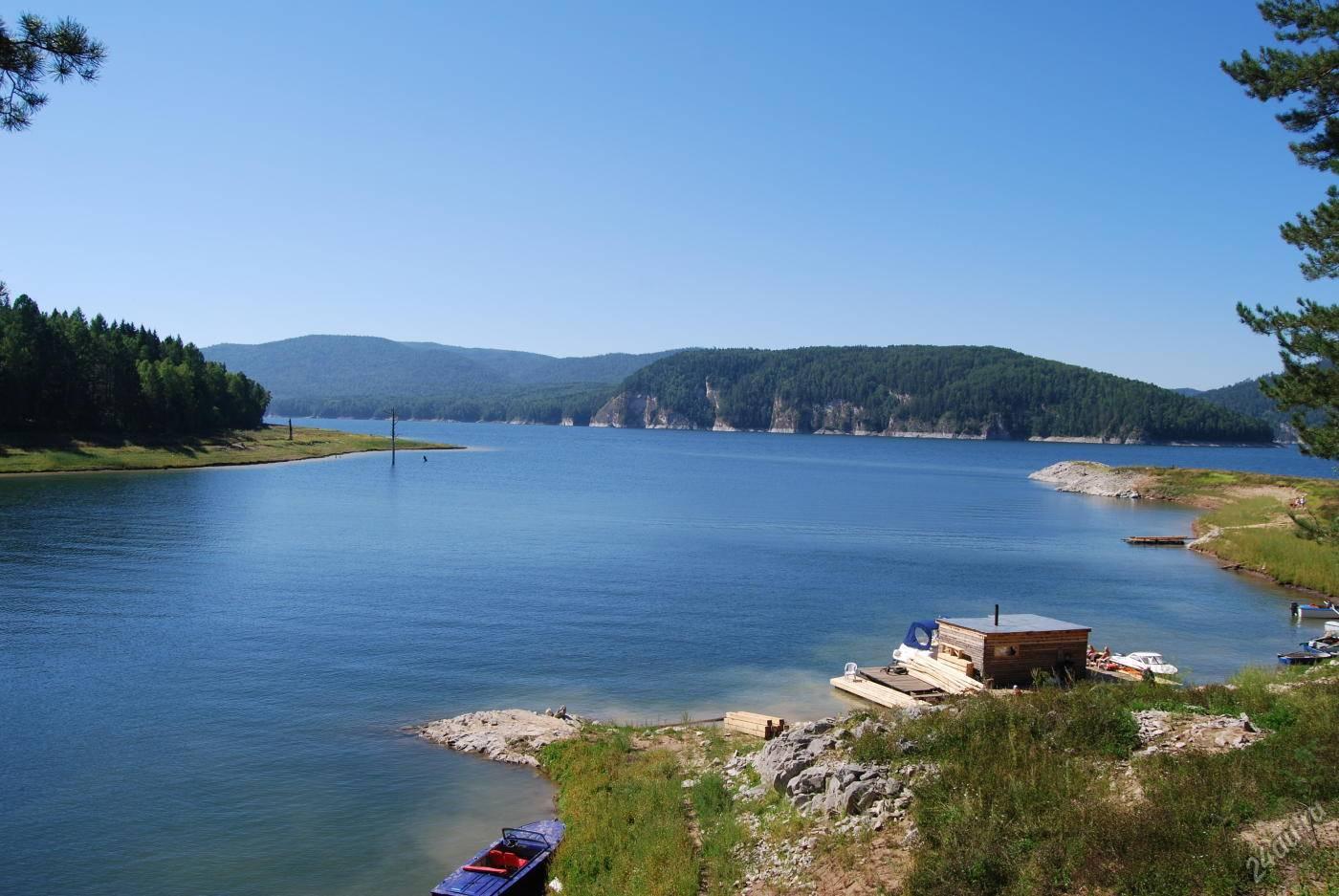 Красноярское водохранилище — заповедные места сибири :: syl.ru